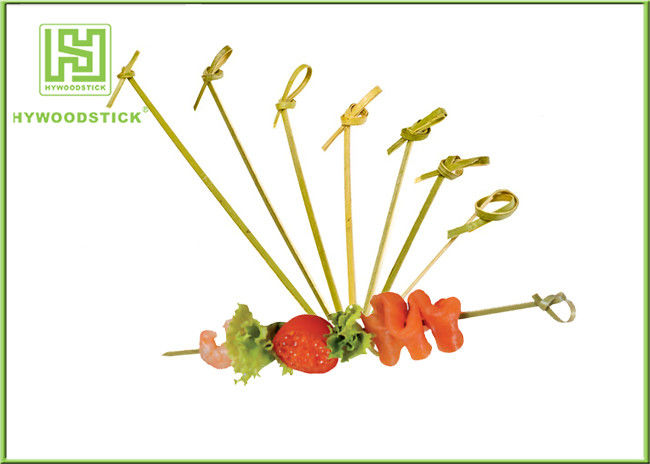 Healthy Bbq Vegetable Skewers , Yakitori Roasting Wooden Meat Skewers For Party