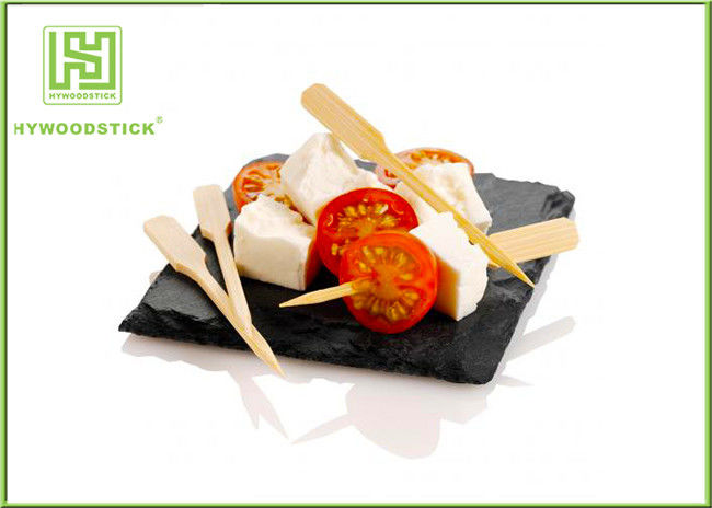 12CM Bamboo BBQ Sticks Healthy Buffet Seafood Skewers For Appetizer Food
