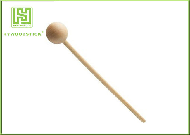 6 Inch Food Grade Disposable Wooden Lollipop Sticks For Candy Apples