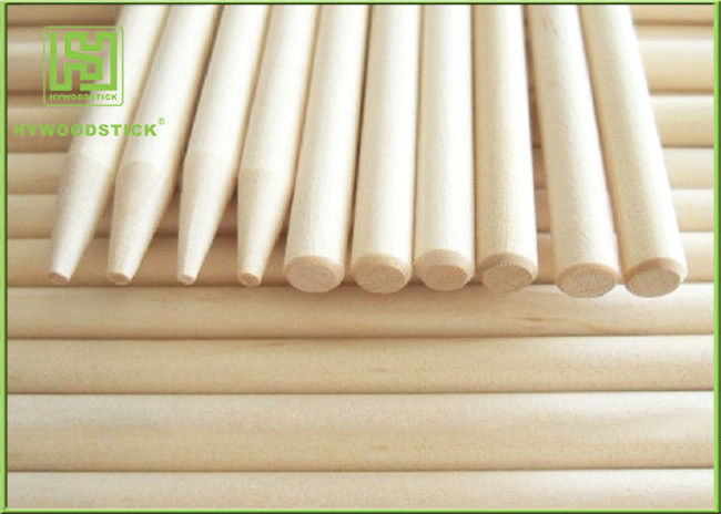 Recycled Magnum Ice Cream Stick , Long Round Popsicle Sticks For BBQ Camping